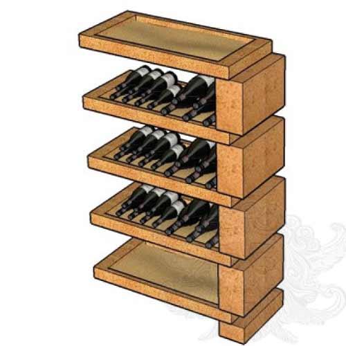 rangement de cave vin sandyline. Black Bedroom Furniture Sets. Home Design Ideas