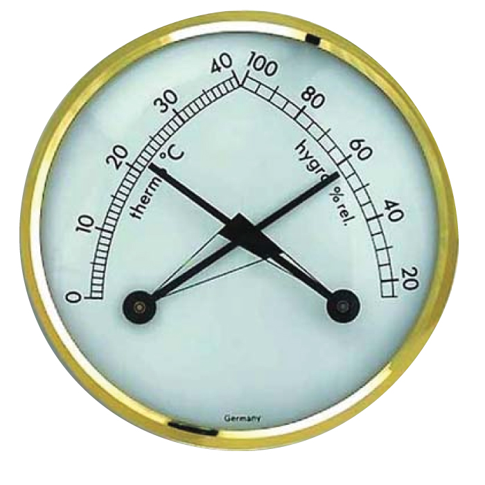Thermometer- Hygrometer